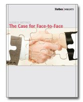 The Value of Face-to-Face Meetings