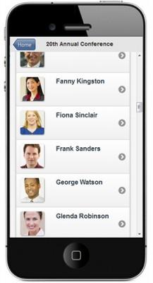 mobile-event-app-speaker-listing