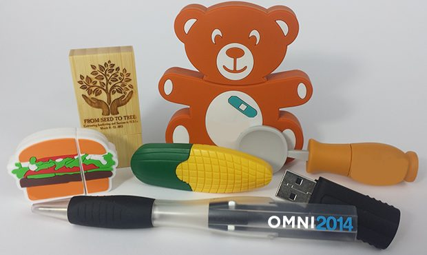Think Beyond the Stick Drive: USBs Become Brag-Worthy Conference Swag
