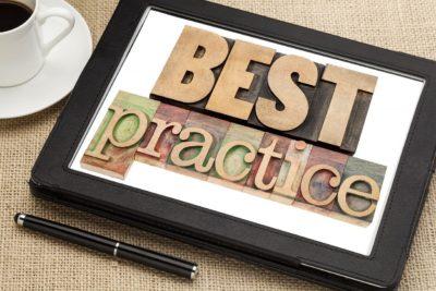 best practice on digital tablet