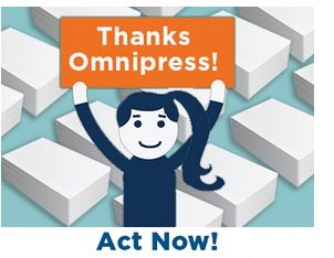 It Pays to Work With Omnipress—Literally!