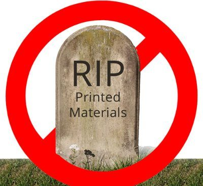 Here's Why Print Isn't Dead 2.0: Seven Reasons Why Print is Here to Stay