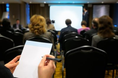Provide value during a conference