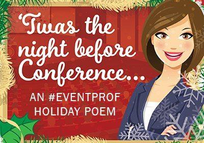 An #Eventprof Holiday Poem