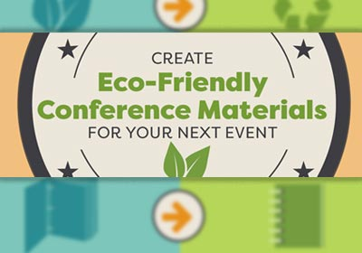 Eco-Friendly Conference Materials
