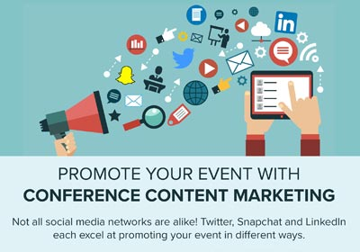 Promote Your Event With Conference Content Marketing