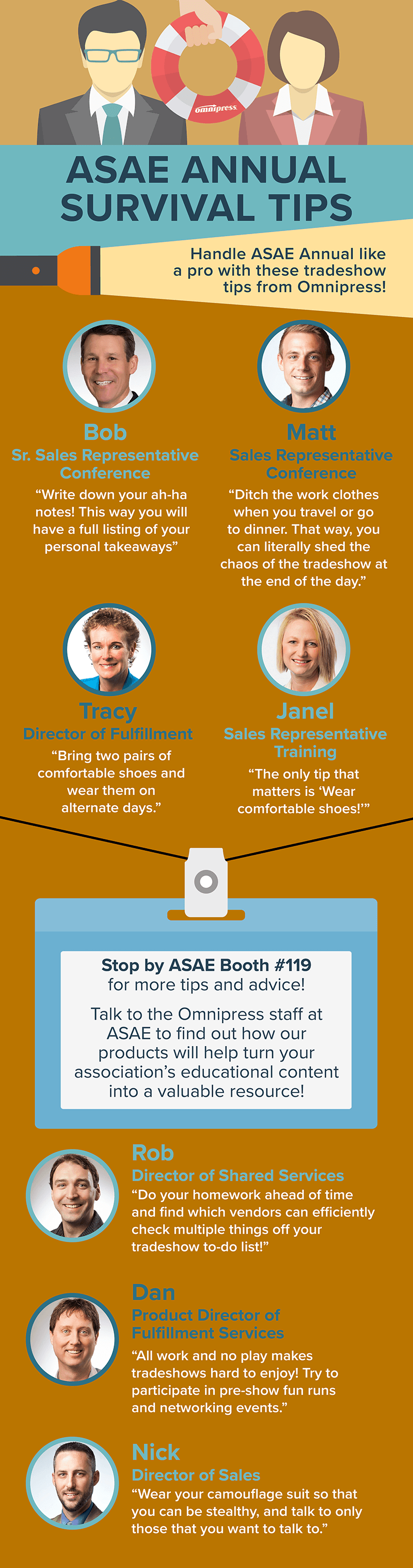 Tradeshow Tips Infographic
