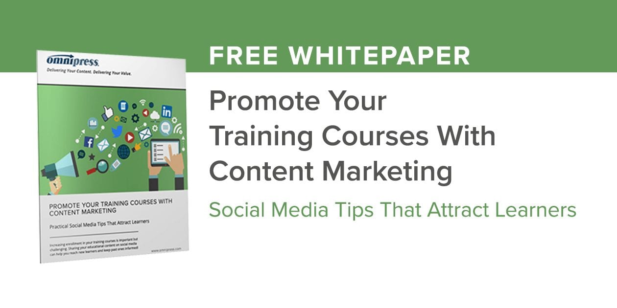 Promote Your Training Course with Social Media