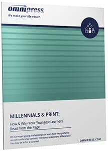Millennials and Print