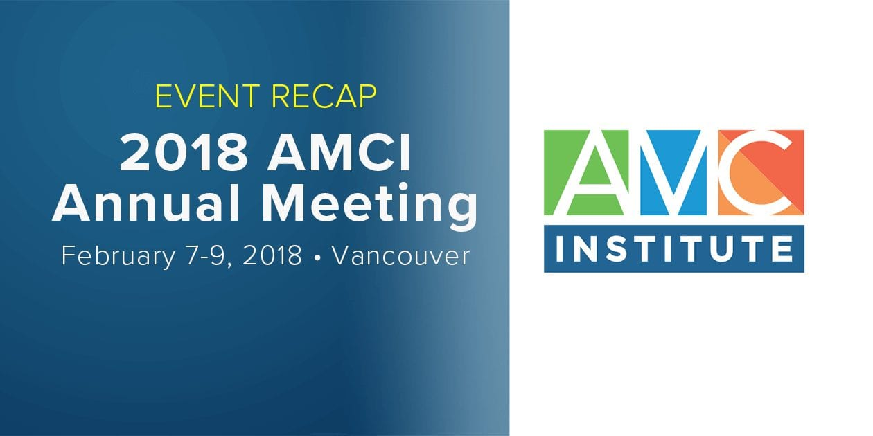 2018 AMCI Annual Meeting Event Recap
