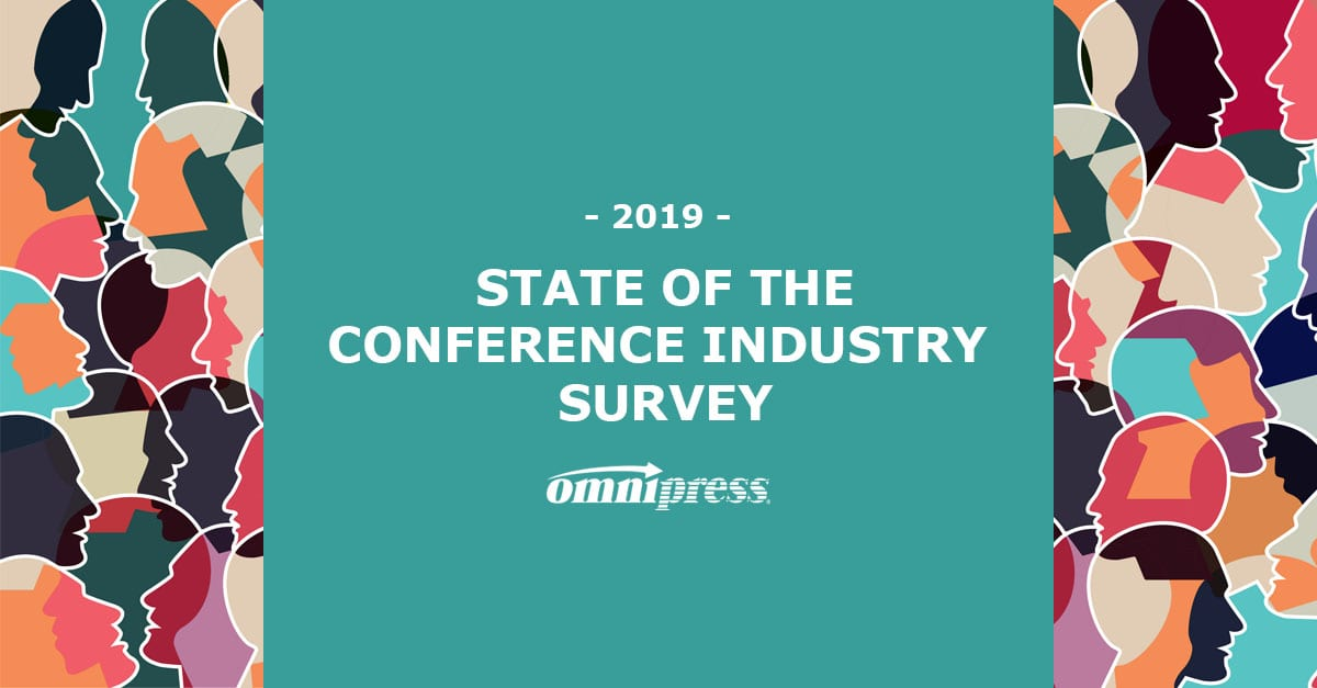 conference state of the industry survey 2019