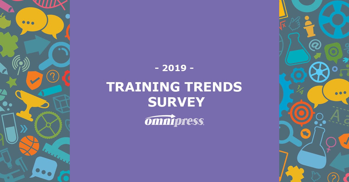 Training Trends survey 2019