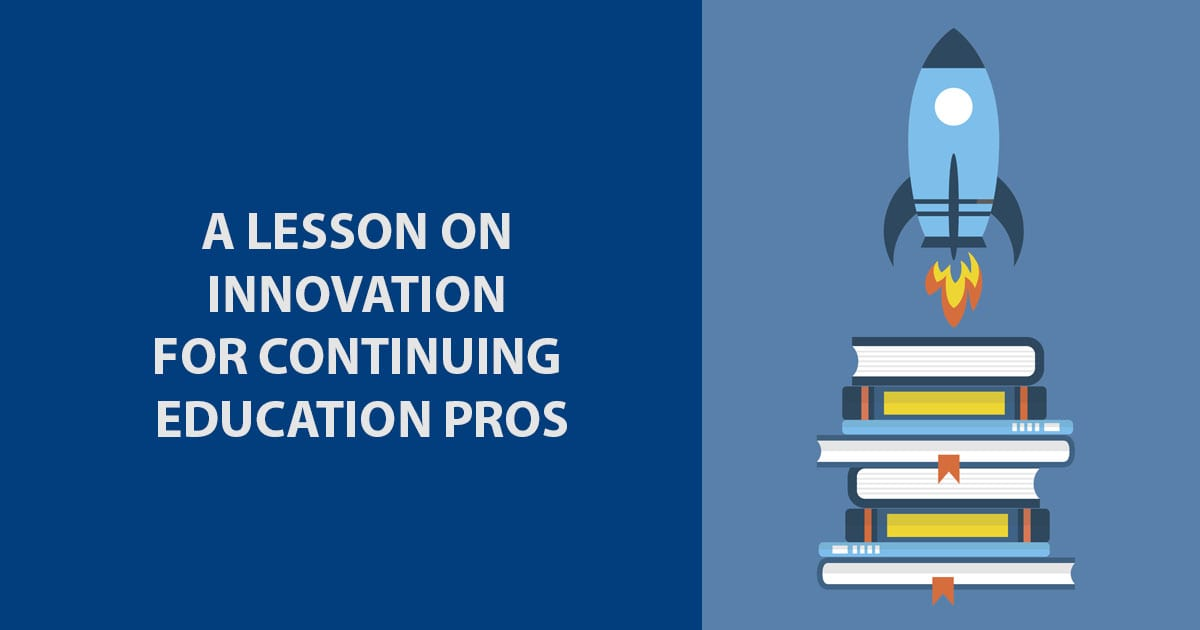 innovation for continuing education professionals