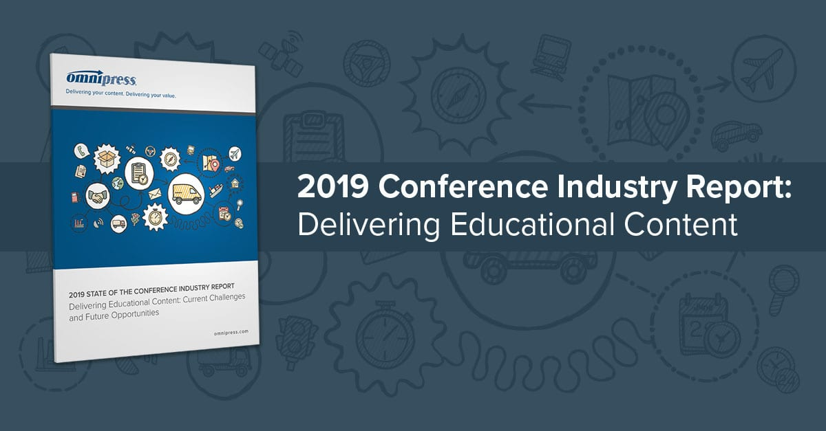 2019 conference industry delivering educational content