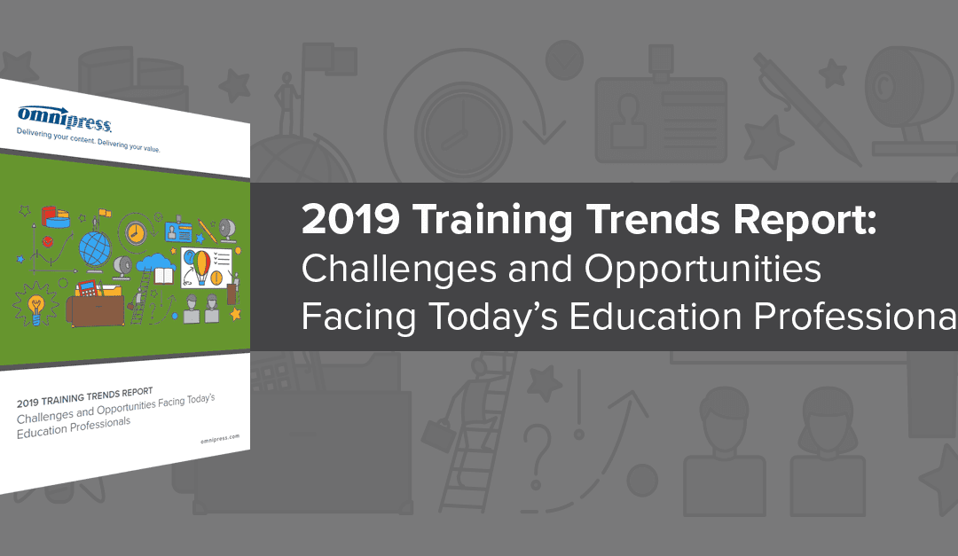 Just Released: The 2019 Training Trends Report