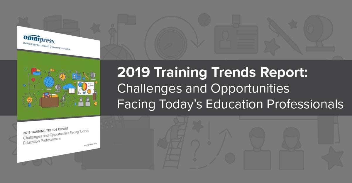 2019 training trends report omnipress