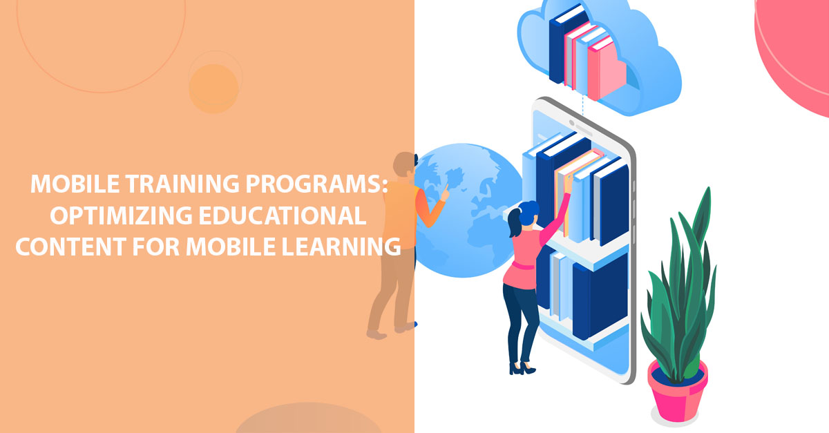 mobile training programs educational content mobile learning