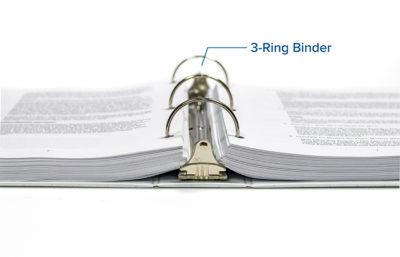 Omnipress 3-Ring Binder Binding Option