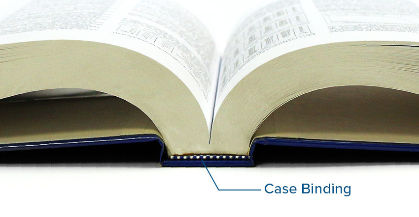 Omnipress Case Binding Option