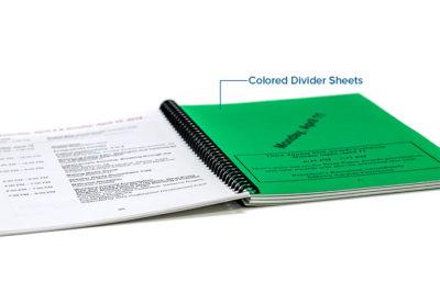 Color Divider Sheet