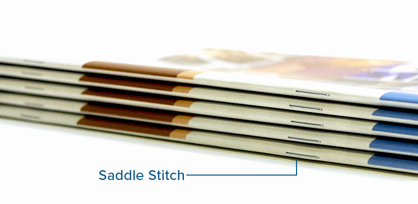 Omnipress Saddle Stitch Binding Option