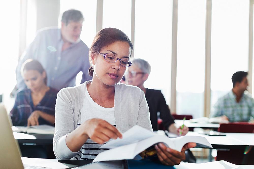 printed training manuals materials continuing education