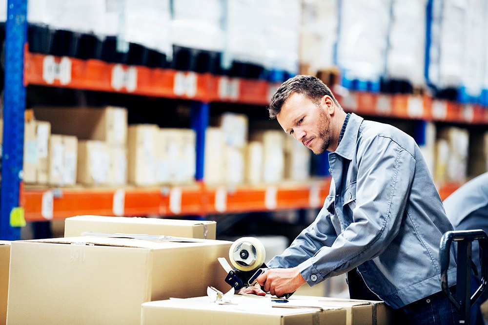 training materials fulfillment distribution shipping inventory management