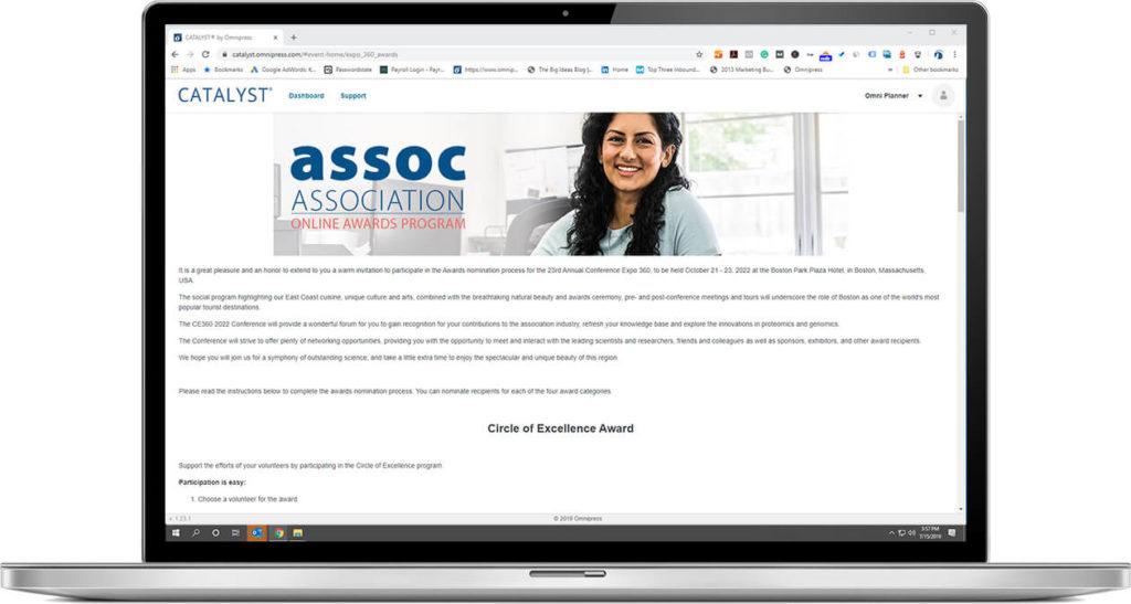 Application Management eligibility landing page