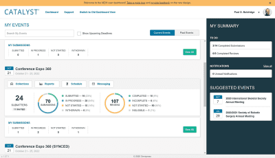 Admin Dashboard with Review Status